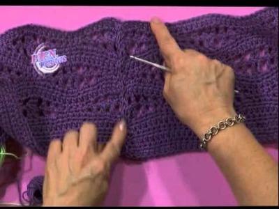 Mónica Astudillo - Bienvendias TV en HD - Teje un Top blanco al crochet
