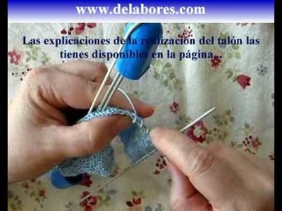 56. Tutorial calcetines con 5 agujas (2.4)