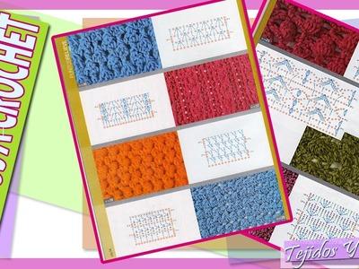 Aprende y Realiza Puntos A Crochet Con Patrones y Graficos Facilmente