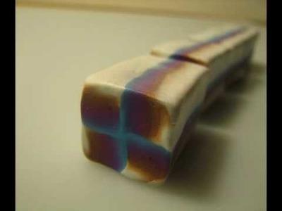 Arcilla polimérica del caleidoscopio