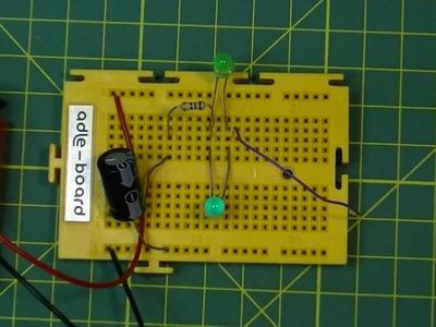 Carga  y descarga de un condensador