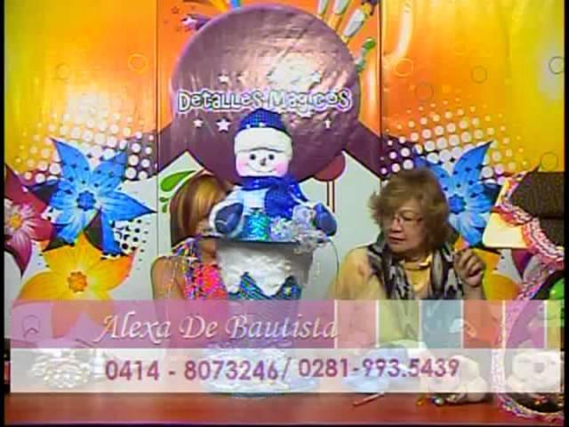 DetallesMagicos con MimiLuna invitada Alexa de Bautista 2013 Guante Navideño parte 4