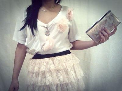 Falda estilo *TUTU* !! algúnas combinaciones que yo hago :D (5 outfits)
