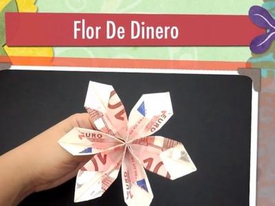 Flor de billete - origami