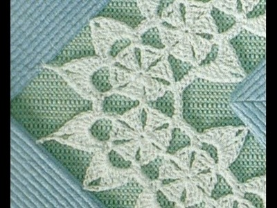 Gráficos para tejer entredós a crochet