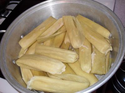 Receta de tamales de elote - La receta de la abuelita