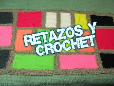 Retazos y Crochet (Quilt)