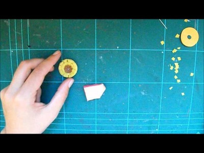 Tutorial como hacer flores de papel con distintos troqueles (parte 2)