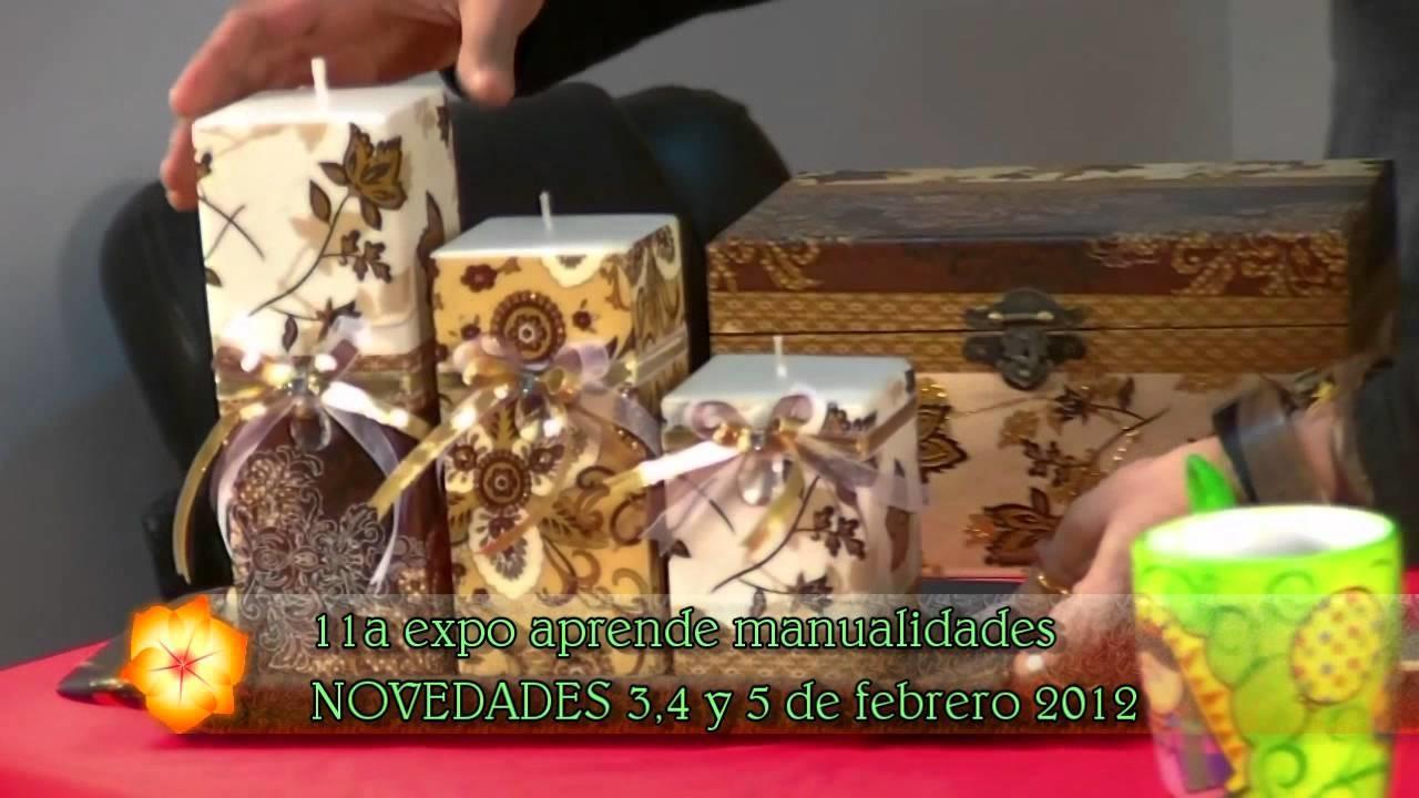 11a expo aprende manualidades promocion con evelyn lapuente Enero 4 2012 Sesion 2