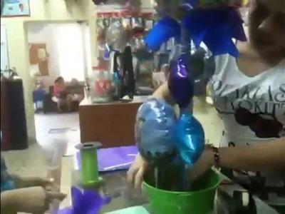 Armando globos de toy story 3