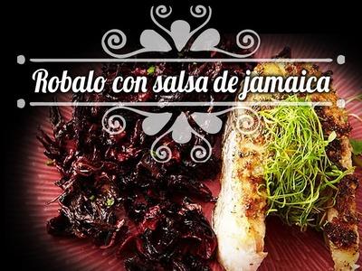 Chef Oropeza Receta: Robalo con salsa de Jamaica