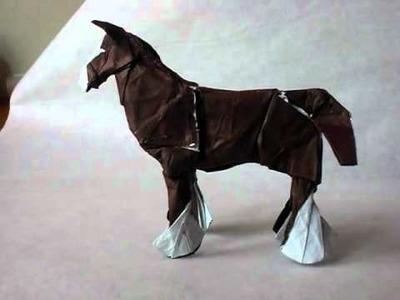 Clydesdale horse (caballo percherón)