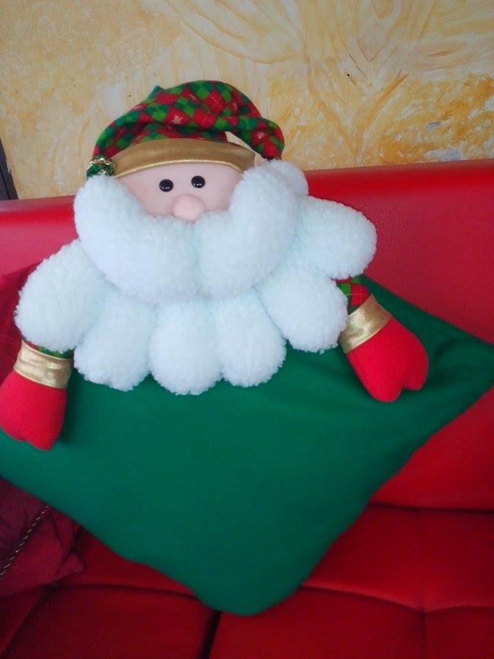 Cojín Navideño  Papa Noel