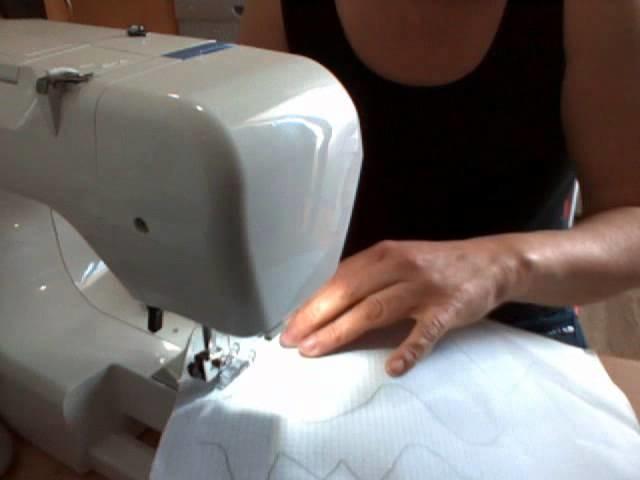 Como coser con la maquina de coser la primera vez