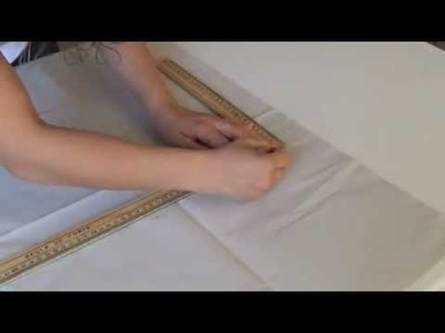 Como Hacer El Trazo Del Pantalon Ancho.   DIY   How To Pattern The Elephant Leg Pants.