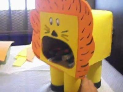 Como hacer un lapicero: León