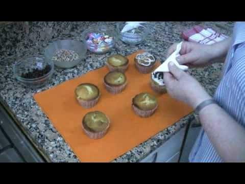 Cupcakes + tip para decoración