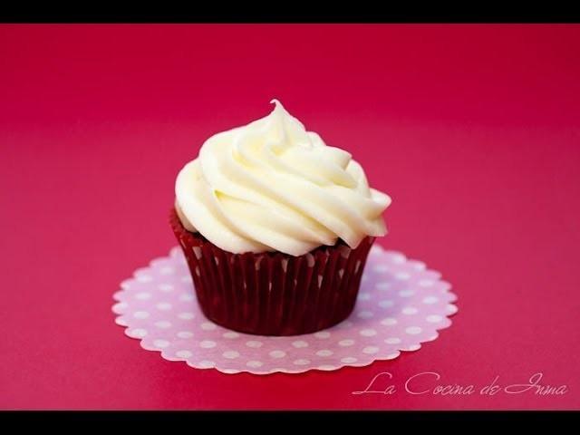 Curso de Cupcakes: Cobertura de Crema de Queso