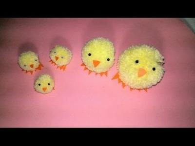 Familia de Pollitos para Pascua