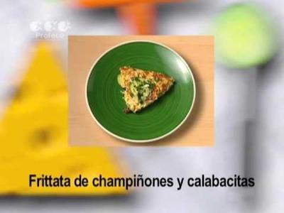 "Frittata de champiñones y calabacitas [""Revista del Consumidor TV"" 34.5]"