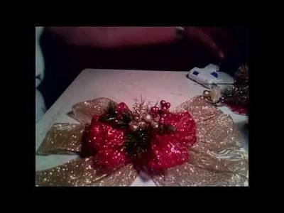 Moño navideño 2