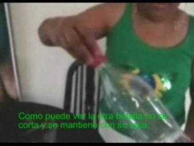 Puff de Botellas de Plasticos