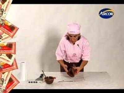 Técnica: Gotas de Chocolate