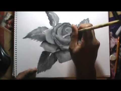 Técnicas de ilustración cap. 5 PINTURAS ACRILICAS, DEGRADADOS Y TONOS DE GRISES