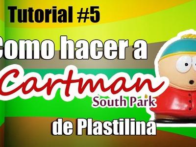 Tutorial Cartman (South Park) de Plastilina