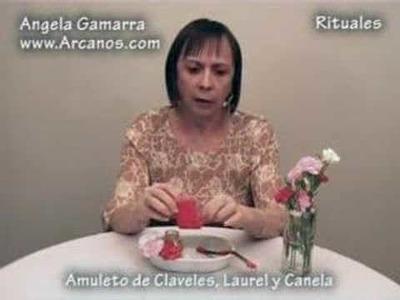Amuleto de Claveles Laurel y Canela para el Amor