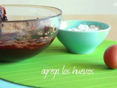 Brownies en microondas