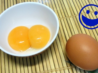 Como separar FÁCIL claras y yemas de huevo. How to separate egg white and yolk