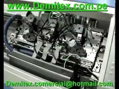 Demitex Steiger tejido de sueter chompas rectilineas full fashion libra datos tecnicos