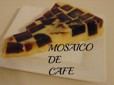 GELATINA MOSAICO DE CAFE ☕  (economica)