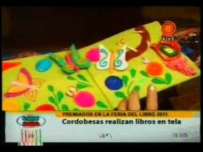 Libros artesanales  en tela 20110525