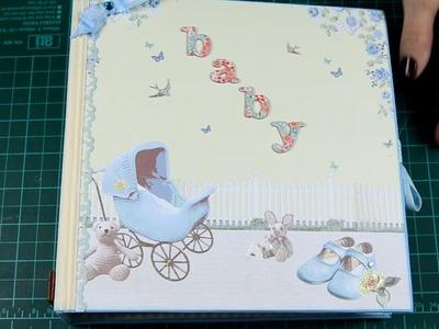 Mini Álbum Scrapbook para niño - Ideartelo