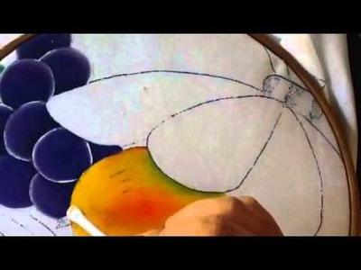 Pintura en tela frutero # 2 con cony