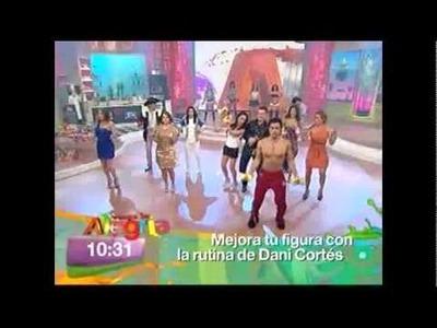 Venga la Alegría: La rutina de Dani Cortés