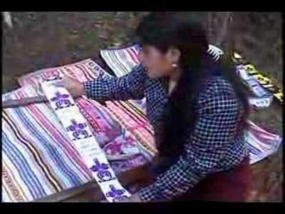 Video Artesania Textil en Huachocolpa