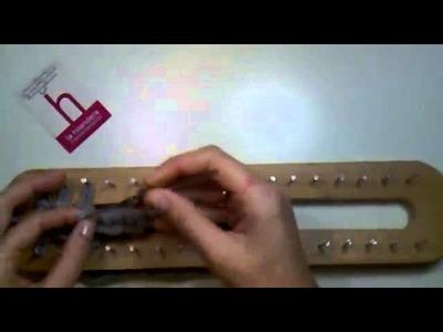 Video Tutorial Cerrar Bufanda Telar Maya - La Hilandera