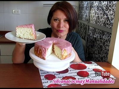 ANGEL FOOD CAKE - PASTEL ANGEL- Silvana Cocina y Manualidades