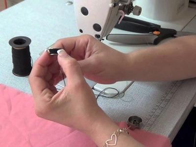 Como Coser El Hilo Eslastico How To Sew The Elastic Thread