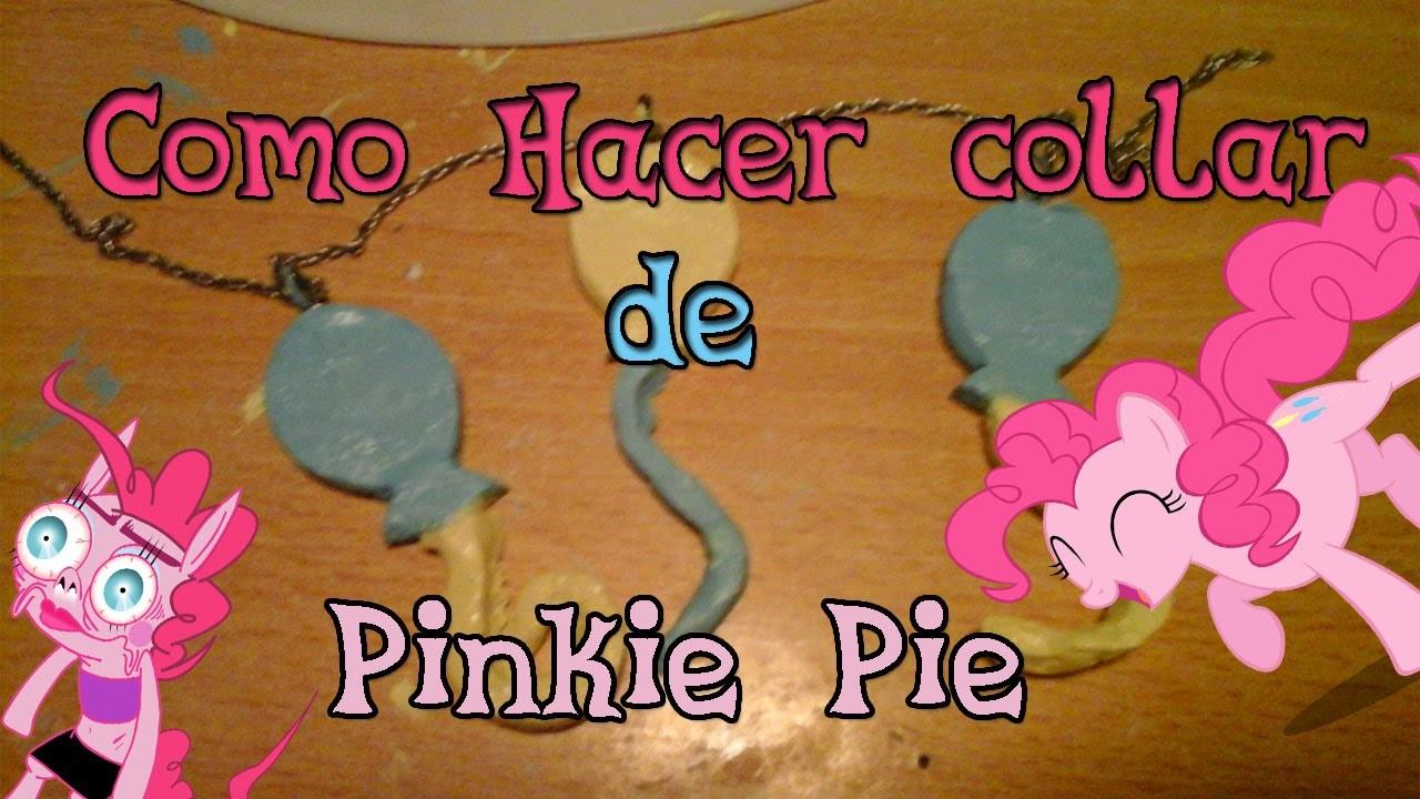 Como hacer collar Cutie Mark de Pinkie Pie➙Manualidades de MLP♥