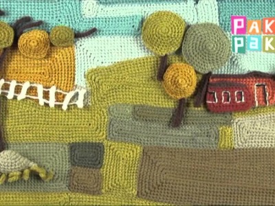 """Cuento: """"El patito feo"""" ilustrado en crochet por Yanina Schenkel - Canal Pakapaka"""