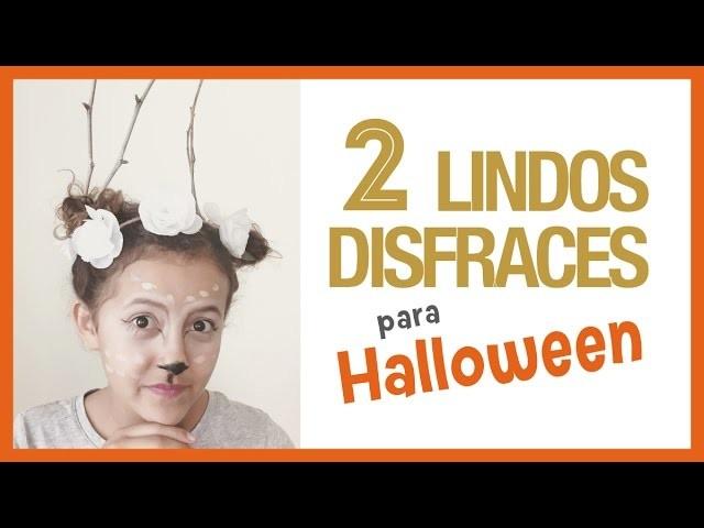 DIY 2 Lindos Disfraces para Halloween 2015