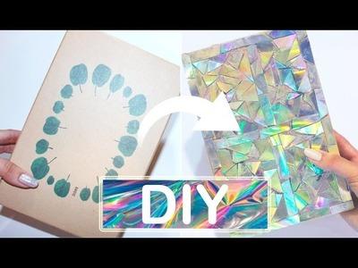 DIY. CAJA DE HOLOGRAMA con DVD's - Jany
