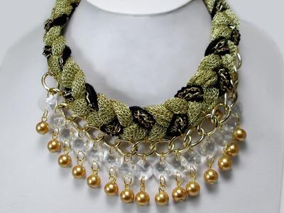 DIY: Collar con Octagonal y Cadena - Colore Accesorios