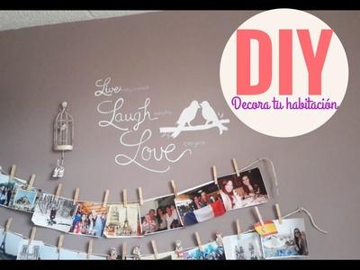 DIY Decora tu habitacion| DIY decora tu cuarto |Como decorar mi habitacion| FOTOS