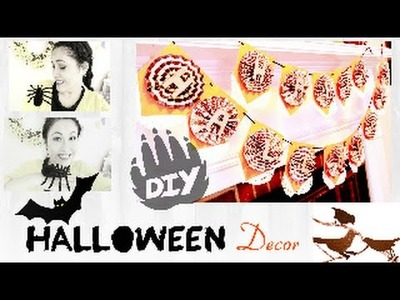 DIY :Halloween Decor.craft , manualidades