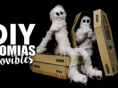 DIY - MOMIAS MÓVIBLES!! de Halloween - Alicsarah♥